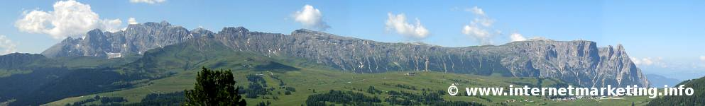 Schlern in Südtirol.