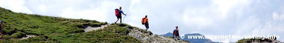 Niedereck (2.304 m) am Sarntaler Hufeisenweg (Foto: R. Jakubowski).