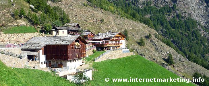 Pirchhof in der Texelgruppe in Südtirol (Foto: Volker).