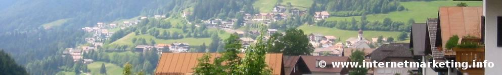 Welschnofen in Südtirol.