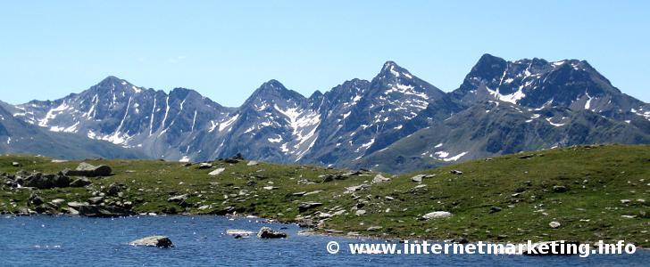 Villgrater Berge in Osttirol (Österreich).