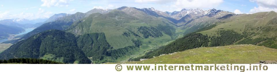 Planeiltal im Südtiroler Teil der Ötztaler Alpen.