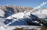 Blick zurück beim Aufstieg zum Plattkofel (2.954 m) (Foto: Volker).