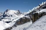 Plattkofel (2.954 m) in der Langkofelgruppe (Foto: Volker).