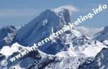 Marmolata (3.343 m) in den Dolomiten (Foto: Volker).