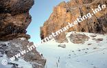 Il Passo Principe (2.601 m) nel Gruppo del Catinaccio (Foto: Volker).