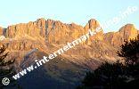 Bagliore alpino nel Gruppo del Catinaccio (Foto: Volker).