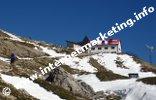 Rifugio dell'Alpe di Tires (2.440 m) nel Gruppo del Catinaccio (Foto: Volker).