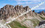 Rifugio Alpe di Tires (2.440 m) sotto i Denti di Terrarossa (Foto: R. Jakubowski)