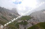 Passo Alpe di Tires (2.440 m) nel Catinaccio sulle Dolomiti (Foto: R. Jakubowski)