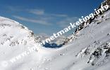 Weg 3A Passo Molignon (2.604 m) - Tierser Alpljoch (2.440 m) in der Rosengartengruppe (Foto: Volker).