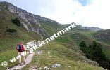 Von der Sesselschwaige (1.940 m) hinauf zum Schlern (Foto: R. Jakubowski).