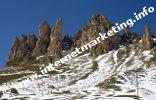 Denti di Terra Rossa nei pressi dell'Alpe di Tires (Foto: Volker)