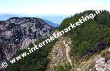 Am Weg Nr. 9 vom Schlern über die Schafköpfe (2.128 m) zum Nigglberg (2.483 m) (Foto: Volker).
