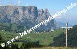 Schlern und Kompatsch in Südtirol.