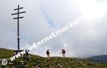 Croce del Tempo alla fine del Sentiero dei tronchi (Itinerario dei tronchi) nel Parco Naturale Sciliar - Catinaccio (Foto: R. Jakubowski)