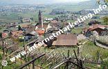 Blick vom Algunder Waalweg auf Algund Dorf (Foto: R. Jakubowski).