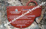 Hinweisschild mit Informationen über das Kulturdenkmal Latschander Waal (Foto: R. Jakubowski).