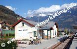 Bahnhof von Marling in Südtirol (Foto: R. Jakubowski).