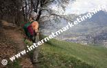 Meran und Ifinger vom Marlinger Höhenweg (Foto: B. Jakubowski).