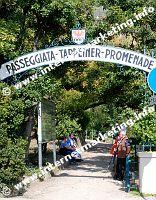 Tappeiner Promenade in Meran (Foto: R. Jakubowski).