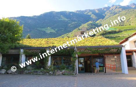 Naturparkhaus Texelgruppe in Naturns (Südtirol).