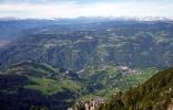 Ritten und Sarntaler Alpen in Südtirol vom Nigglberg aus gesehen (Foto: Volker).