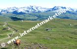 Corno Planca (2.575 m), Cima Getrum (2.569 m) e Cima San Cassiano (2.581 m) nelle Alpi Sarentine (Foto: R. Jakubowski).