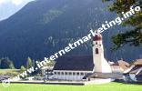 Chiesa parrocchiale a Nova Levante in Alto Adige (Foto: Volker).